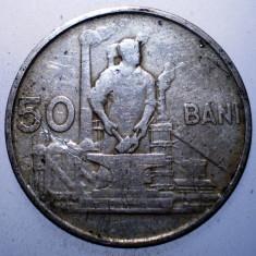 2.341 ROMANIA RPR 50 BANI 1955 - Moneda Romania, Cupru-Nichel