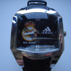 Ceas Adidas Real Madrid model A0370G quartz - Ceas barbatesc Adidas, Sport, Otel, Silicon, Analog