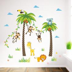 Stickere camere bebelusi - Palmieri si animale