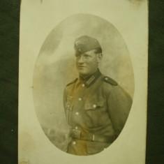 Foto militara germana, soldat din WH al 3-lea Reich WW 2/nazista/colectie - Fotografie veche