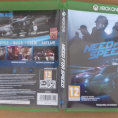 NEED FOR SPEED - NFS - XBOX ONE [A] - Jocuri Xbox One, Curse auto-moto, 16+, MMO