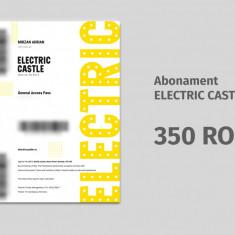 Abonament Electric Castle 2017