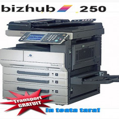 Copiator Second Hand Minolta BizHub 250 Reconditionat, Monocrom - Copiator alb negru Konica Minolta