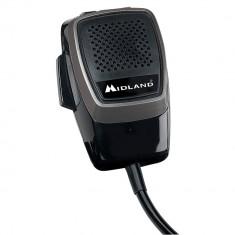 Aproape nou: Microfon Midland M-20 electret 6 pini pentru statii 48/78/248/248 XL/2