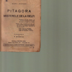 Edouard Schure - Pitagora , misterele de la Delfi