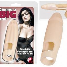 Extensie pentru penis - Realistic + 3, 5 cm - Jucarii erotice
