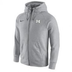 Nike College Gridiron Grey Full Zip Hoodie | produs 100% original, import SUA, 10 zile lucratoare - eb280617a - Hanorac barbati