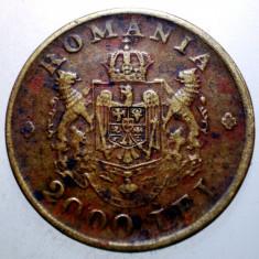 2.380 ROMANIA MIHAI I 2000 LEI 1946 EROARE - Moneda Romania, Alama