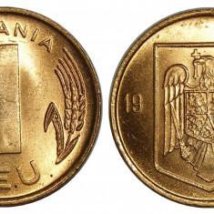ROMANIA 1 LEU 1993 UNC NECIRCULATA - Moneda Romania