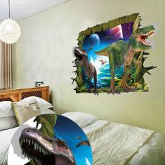 Sticker decorativ de perete 3D - Dinozauri