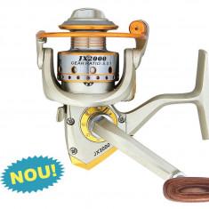 Mulineta Baracuda  Darcy JX2000 Rulmenti 7 Ideala Pescuit la Rau varianta mica