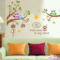 Stickere decorative pentru copii – Noapte bună! (Rame foto)