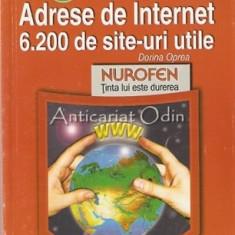 Adrese De Internet. 6200 De Site-uri Utile - Doina Oprea - Carte Informatica