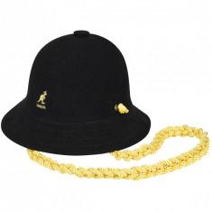 Palarie Kangol Knit Chain Casual Negru (Masuri: S, M, L, XL) - cod 1905291715791 - Palarie Dama