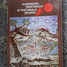 ALMANAHUL VANATORULUI SI PESCARULUI SPORTIV ANUL 1976, STARE FOARTE BUNA