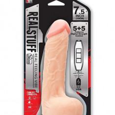 Vibrator REALSTUFF 19 cm - Vibrator Vaginal