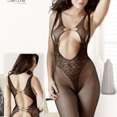 Catsuit - Negru - S/L - Lenjerie sexy femei