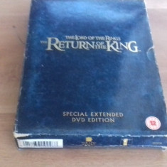 The lord of the rings - The return of the king - SPECIAL ED - DVD [C, cd] - Film actiune, Engleza