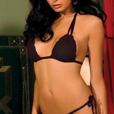 Chiloti cu sutien Tie-Up Set - Set lenjerie sexy