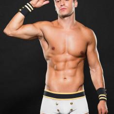 Boxer barbati - Sailor White Bottom/ Cuffs/ Hat 3 Pc