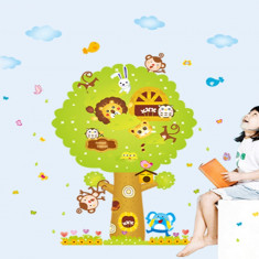 Stickere pentru copii - Copacul gigant