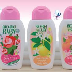 Lapte de corp Bio pentru bebelusi - Cosmetice copii