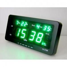 Ceas Digital cu Led CX 2158 pentru birou MangicMall Practic HomeWork - Ceas led