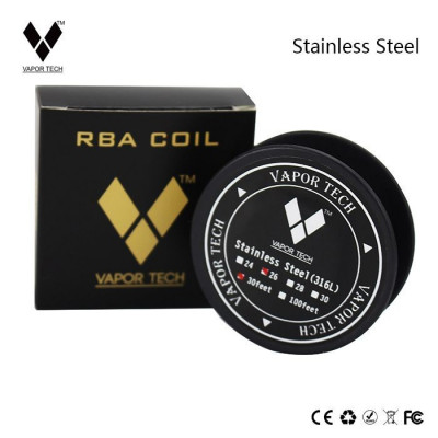 Sarma Stainless Steel SS 316L wire 28ga (0.32 mm) by Vapor Tech foto