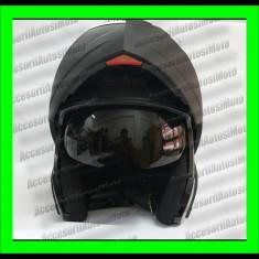 CASCA MOTO Modulara FGN FLIP-UP cu OCHELARI de Soare, Marime: M, L, XL