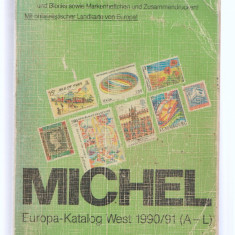 Catalog MICHEL Europa West 1990/1991, folosit