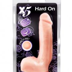 Dildo cu ventuza - X5 Hard on - 22cm