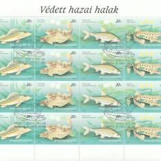 Ungaria 1997 - pesti, bloc stampilat