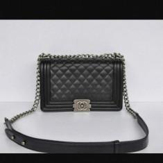 Geanta Channel - Geanta Dama Chanel, Culoare: Negru, Marime: Medie