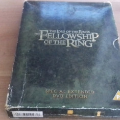The lord of the rings - The fellowship of the ring - SPECIAL ED - DVD [C, cd] - Film actiune, Engleza