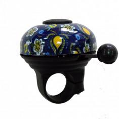 Sonerie Annuo albastra model floralPB Cod:DHS-15693