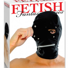 Masca Zipper Fetish Fantasy