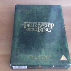 The lord of the rings - The fellowship of the ring - SPECIAL ED - DVD - Film actiune, Engleza