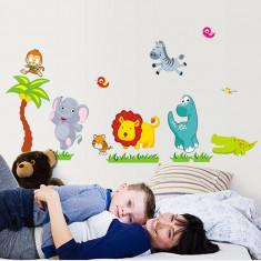 Sticker camera bebe - Animale din jungla