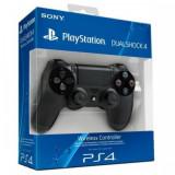 Controller wireless DualShock 4, pentru PlayStation 4, Negru