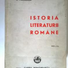 D. Murarasu - Istoria literaturii romane {1943}