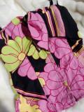Corset dama MORGAN , bustiera de zi/ seara, flori, bluza, maieu, maiou, Multicolor, Suport intarit