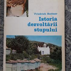 Istoria Dezvoltarii Stupului - Friedrich Ruttner STARE FOARTE BUNA .
