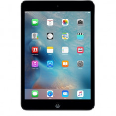 IPad Mini 2 Retina Space Grey 128 gb WIFI si 4G cellular stare perfecta - Tableta iPad Mini Retina Display Apple, Gri, Wi-Fi + 4G
