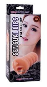 Masturbator - gura - Abby Sensual Lips foto mare