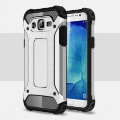 Husa Samsung Galaxy J5 (2015) - Hybrid Armour Silver - Husa Telefon