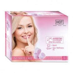 Tampoane, burete vaginal HOT INTIMATE CARE Soft 10 buc.
