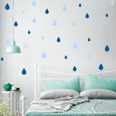 Decoratiuni camera bebe - Picaturi de ploaie
