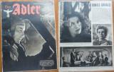 Revista aviatiei germane Luftwaffe , Der Adler , nr. 23 , 1943 , in limba romana