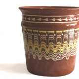 Galeata pentru sampanie ceramica, lut Devon
