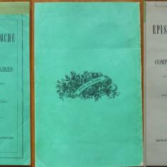 Paschides, Manual epistolar, 1873, autograf catre Arhiereul Melchisedec - Carte Editie princeps